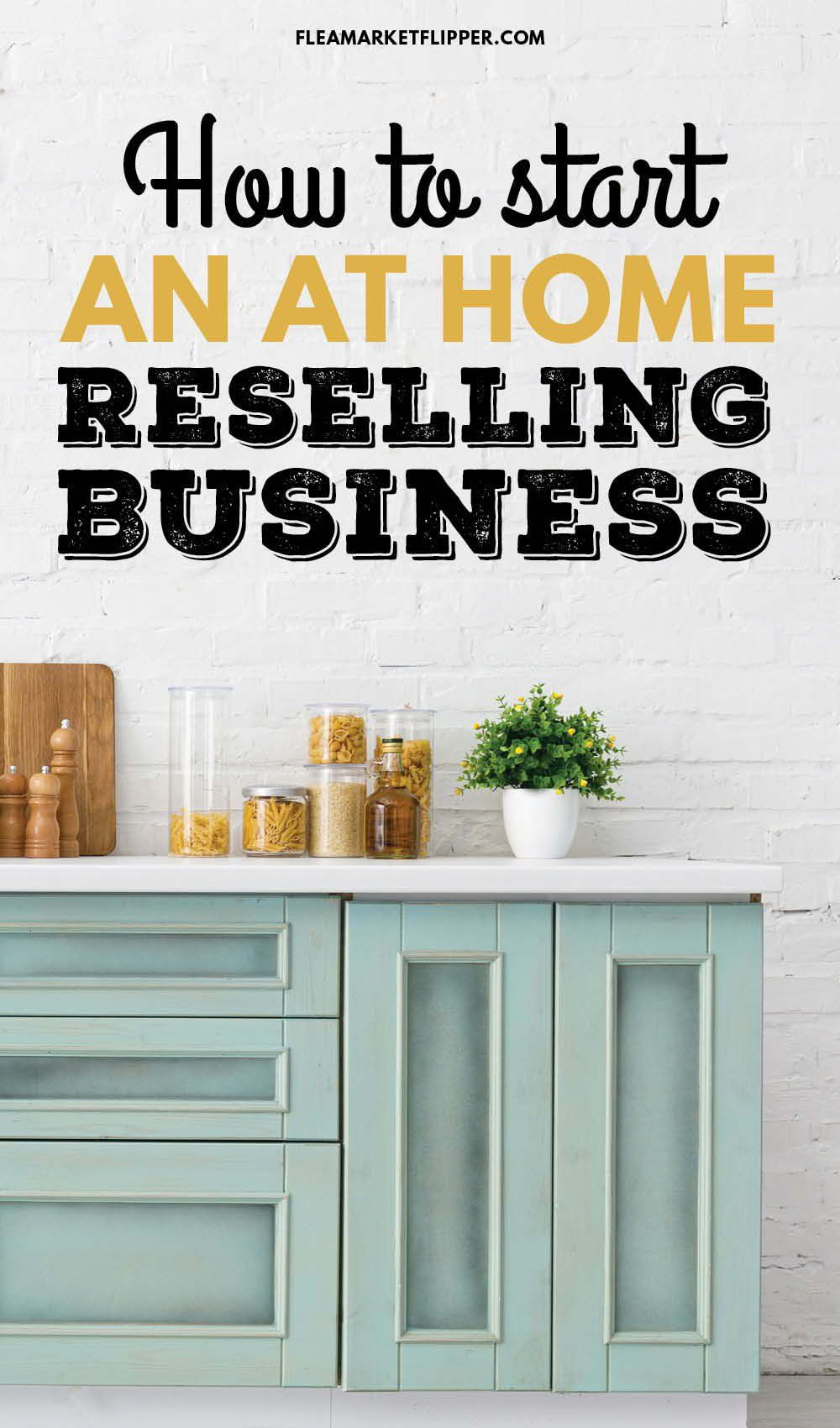 How To Start An At Home Reselling Business Thrifting