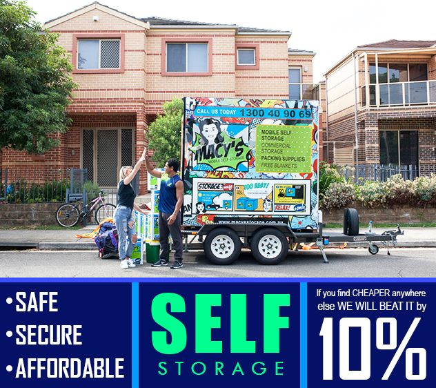 Fast Easy Secure And Affordable Mobile Self Storage Sydney That Comes To You Whether It S Home Or Work We L Self Storage Affordable Storage Storage Packing