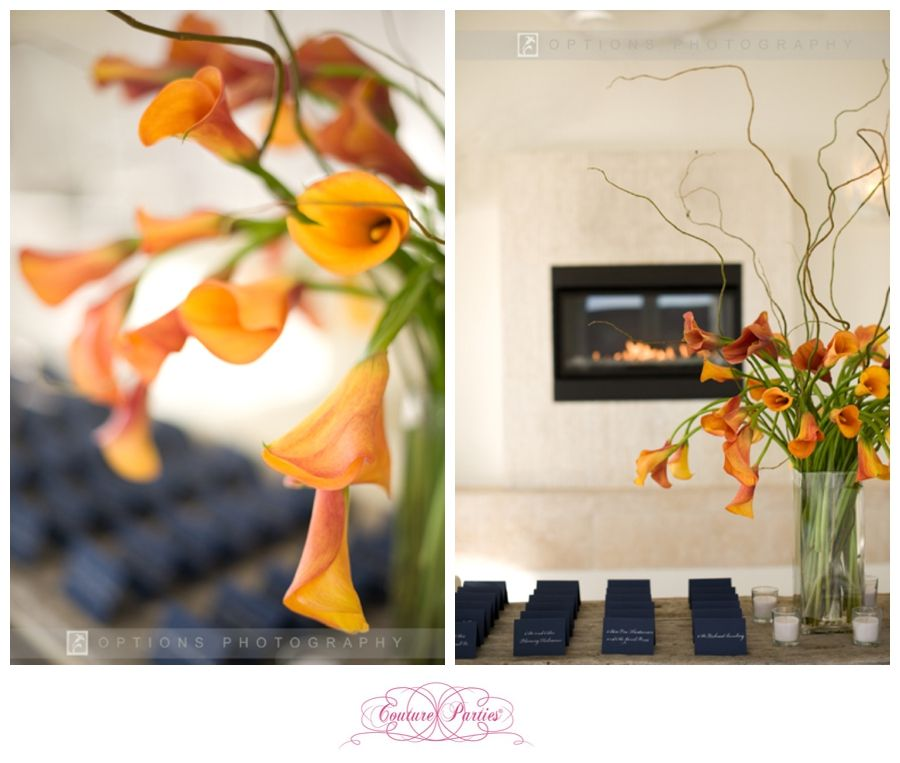 Creating Couture Weddings:: Inspiring Chic Weddings in the City by the Sea Newport, RI: Orange and Navy Fall Newport Wedding