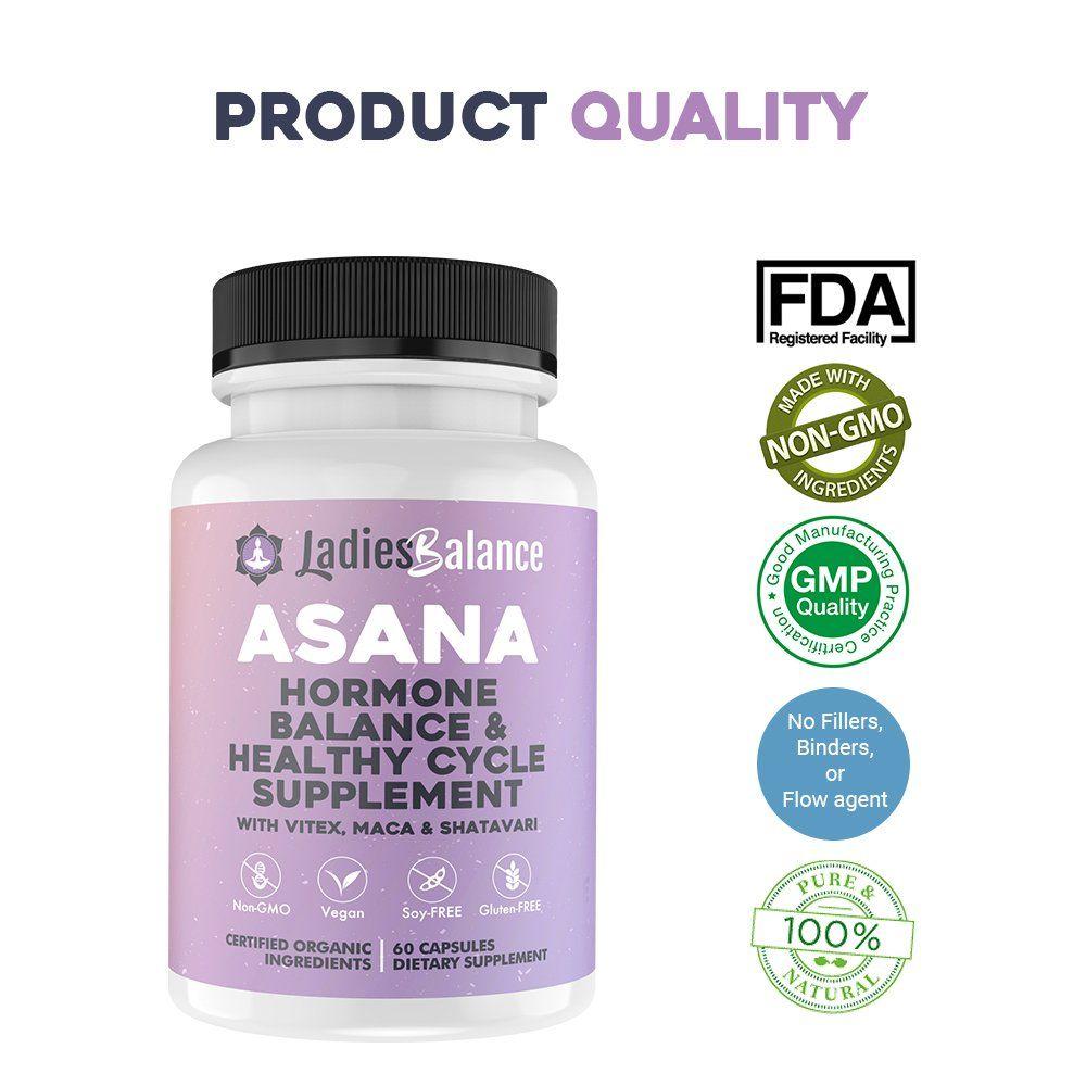 fertitliy diets - Asana LadiesBalance Womens Hormone Balance Healthy