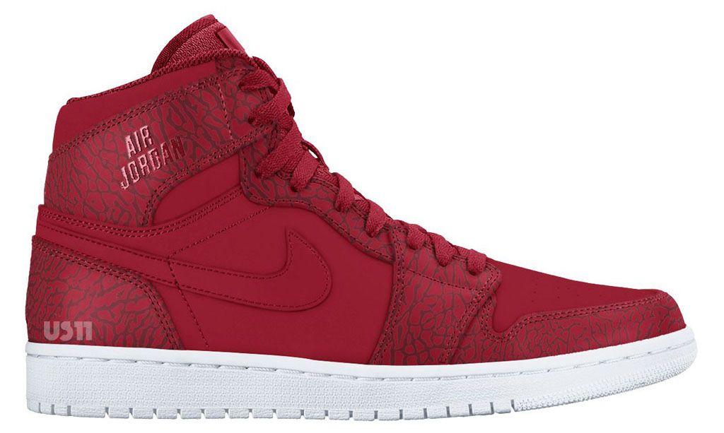d459a9dd1f1 Air Jordan I 1 Rare Air Red Elephant