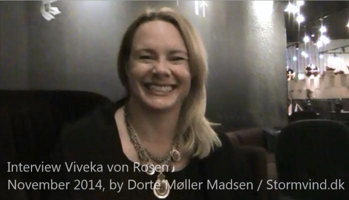 Det var lidt af et hot shot, da arrangørerne af B2B Marketing Day, annoncerede at Viveka von Rosen var en af de to udenlandske hovedtalere.