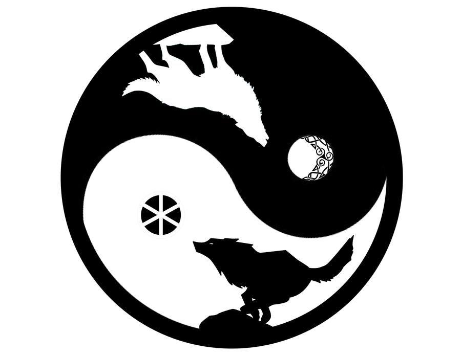 Skoll y Hati by go-daigo on DeviantArt