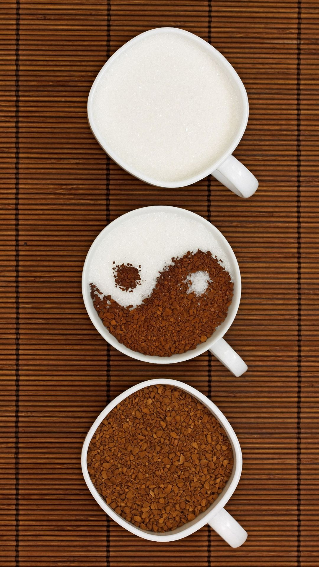 Hd Cute Yin Yang Coffee Iphone 6 6s Plus Wallpapers Cute Mobile