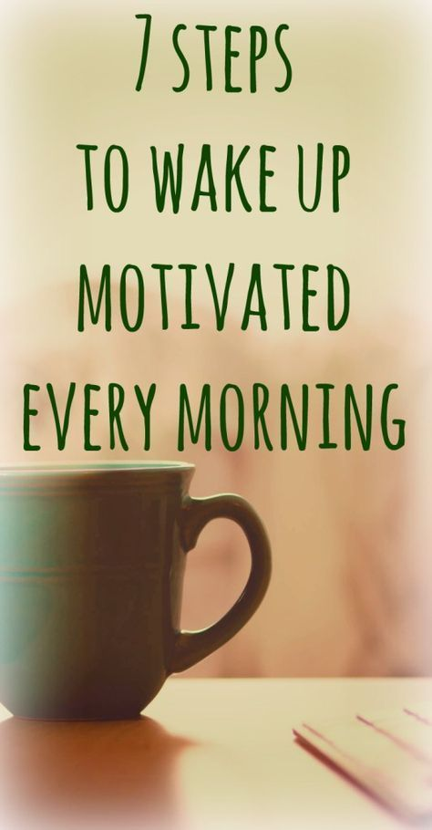 7 Step Morning Routine For Motivation Boost Cheat Sheet for Life