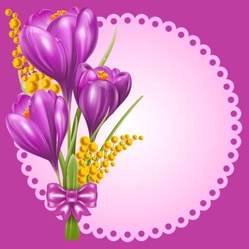 Http://freedesignfile.com/95985-beautiful-purple-flower