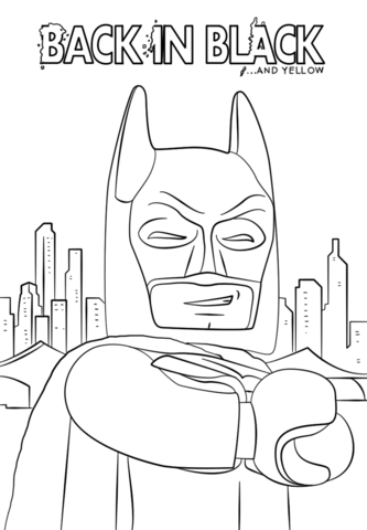 Batman From The Lego Batman Movie Coloring Page From The Lego Batman Movie Category Select Lego Movie Coloring Pages Batman Coloring Pages Lego Coloring Pages