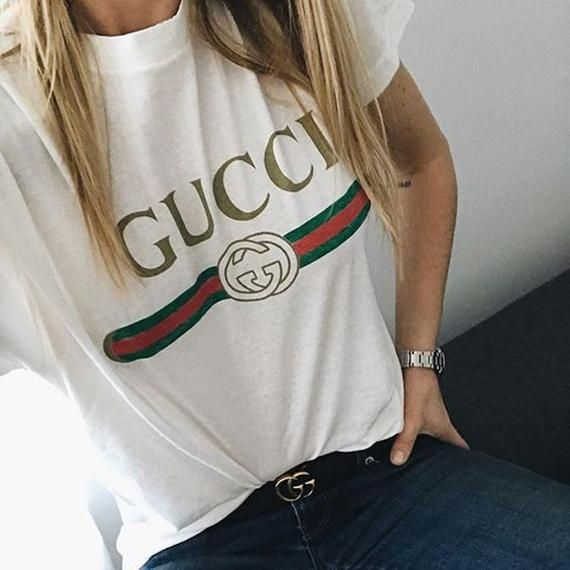 61879abd Fashion Style Gucci Women's T-Shirt Tee High Quality Cotton,Perfect Gift  for her for him - GucciWom