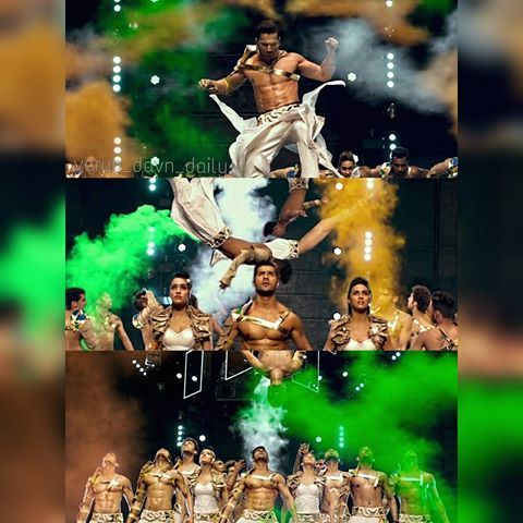 How can I forget this performance!  Vande Mataram from abcd2!😍😍😍. and I…