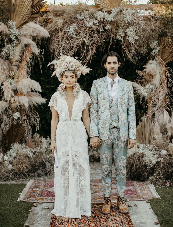 Mad Maven Styles Marie Antoinette Meets Southwestern-Inspired Wedding — Part 2
