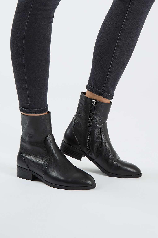 28d0e53852cb9 KLASH Leather Sock Boots