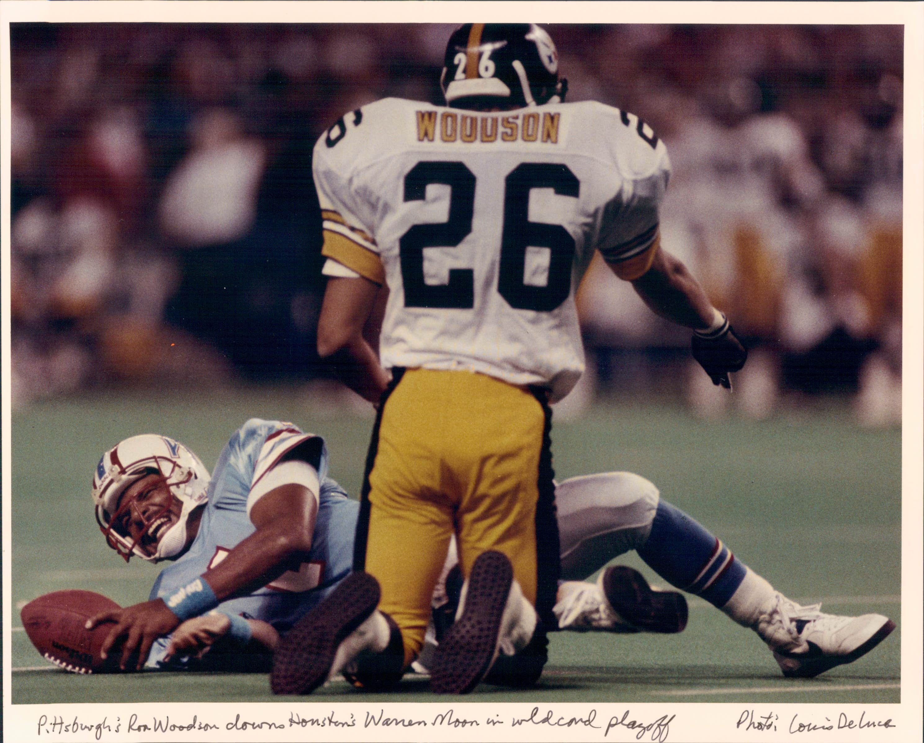 e6d19a82 Rod Woodson and Warren Moon | Here We Go Steelers! | Pittsburgh ...