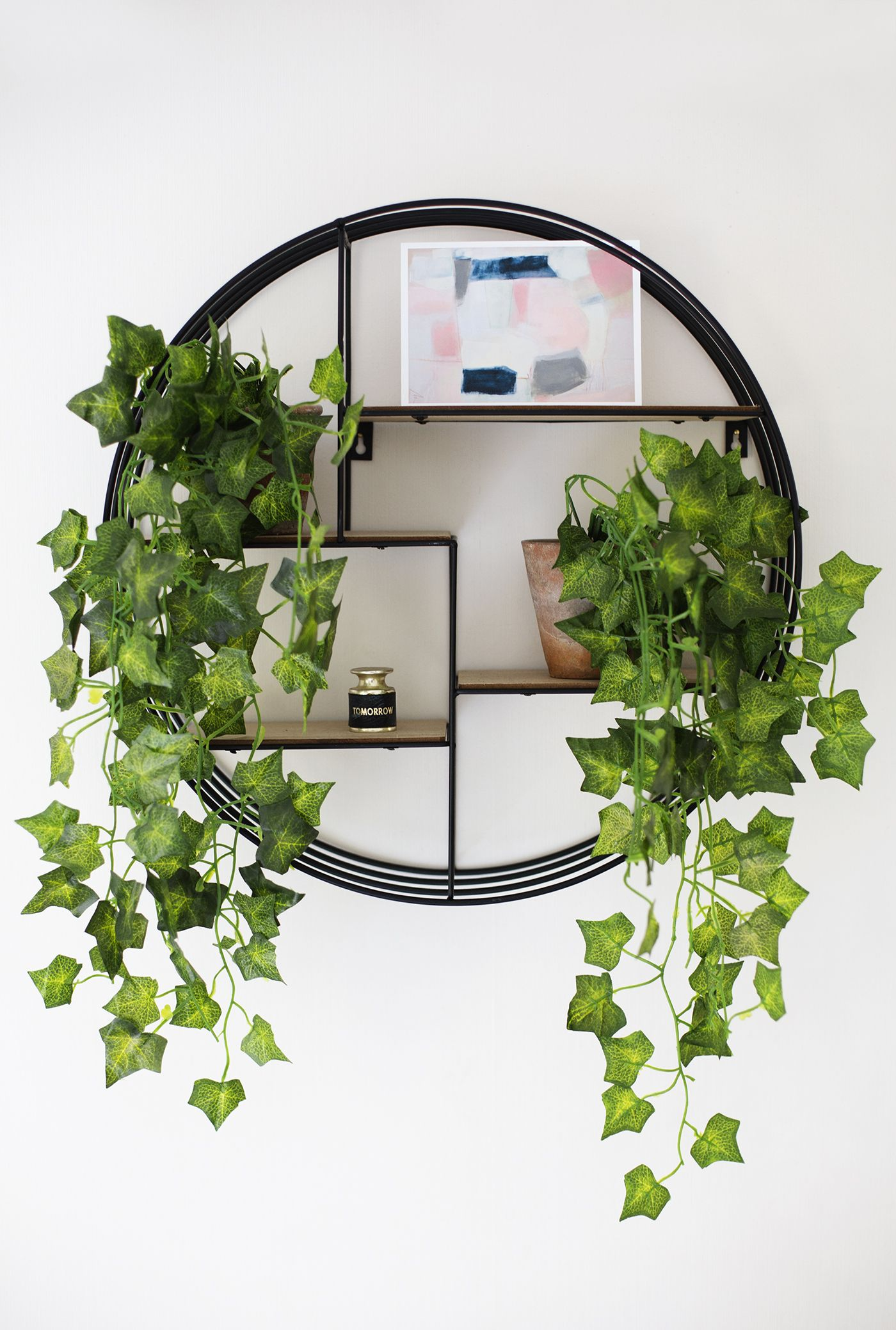 may styling the seasons shelfie pot plants home. Black Bedroom Furniture Sets. Home Design Ideas