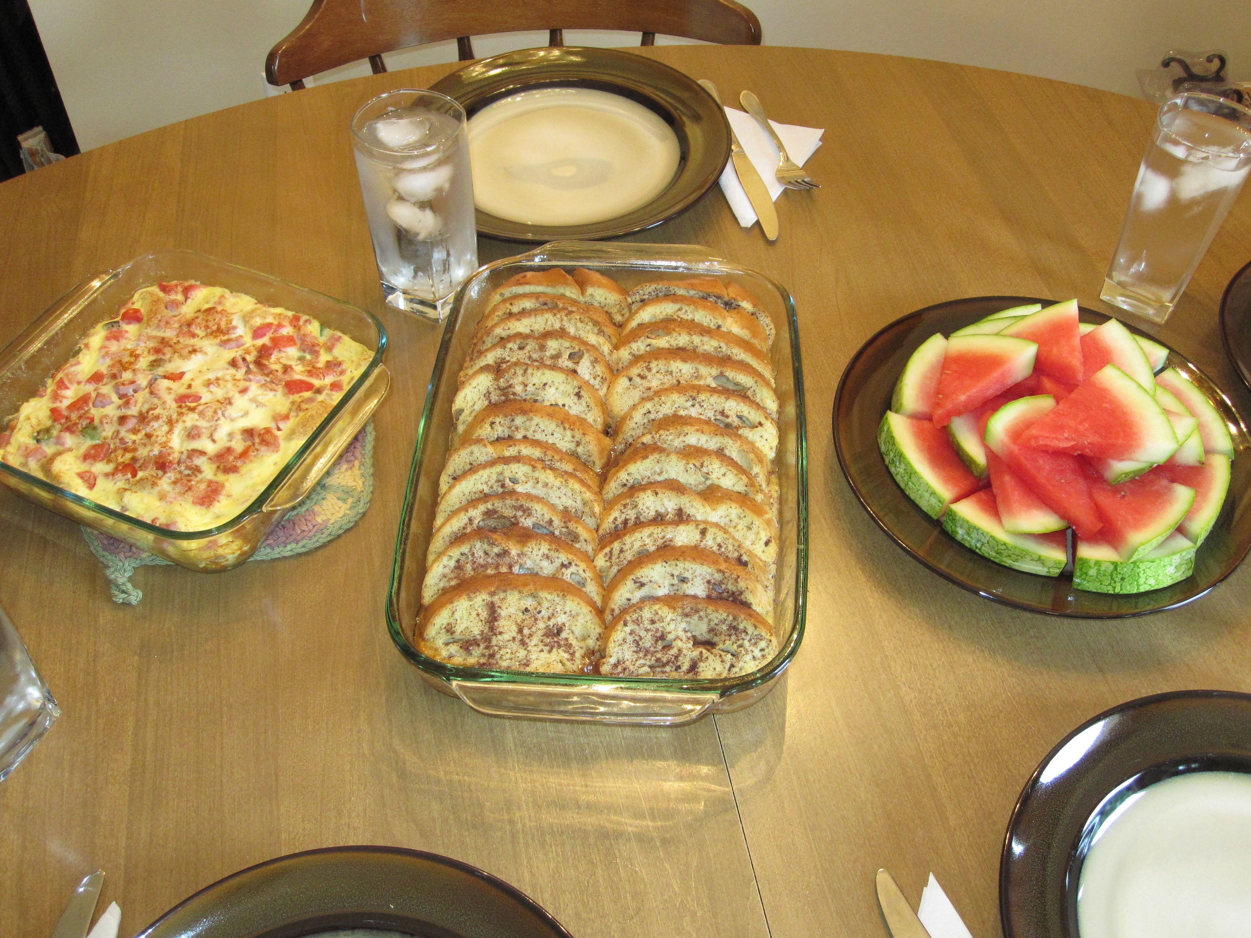birthday dinner homemade thank you brunch - Strata Recipes For Brunch