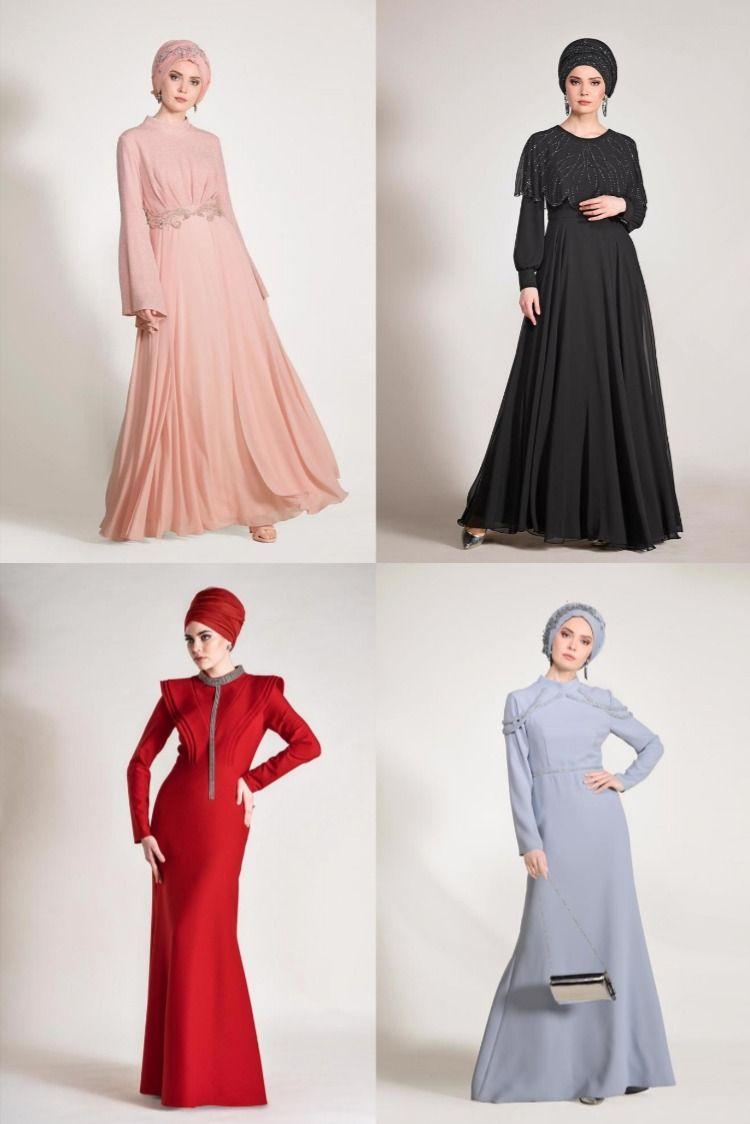Alvina Tesettur Abiye Modelleri 2020 17 17 2020 Moda Stilleri Nedime Giysileri Elbise Modelleri