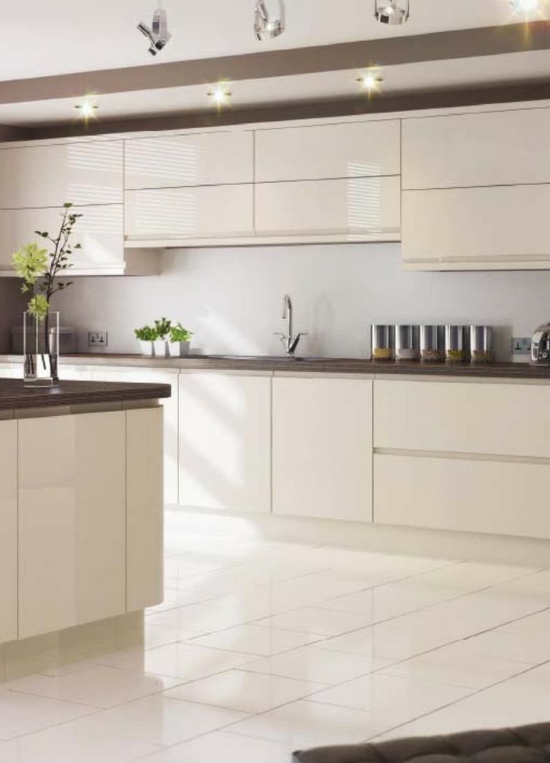 Magnolia, Magnolie, Küche, Küchenfarbe, Beige, Hell, Weiß, Creme,