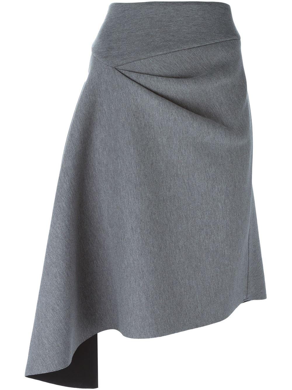 Dkny Asymmetric Skirt - Voo Store - Farfetch.com More