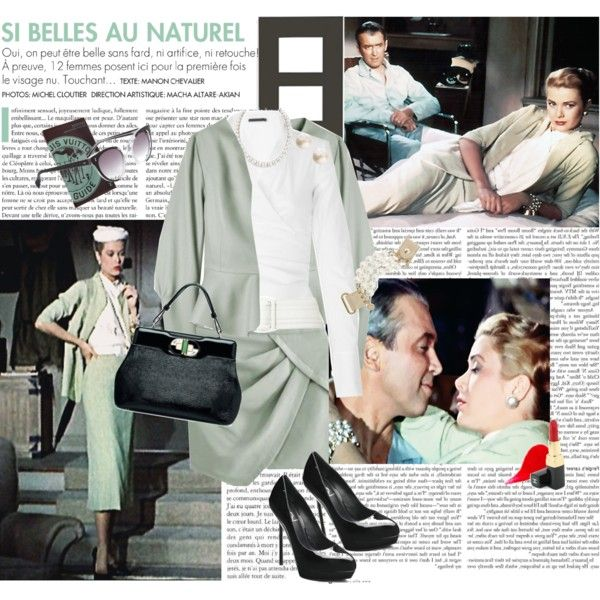 Hollywood Classics Grace Kelly In The Rear Window Created By Savoytruffle On Polyvore