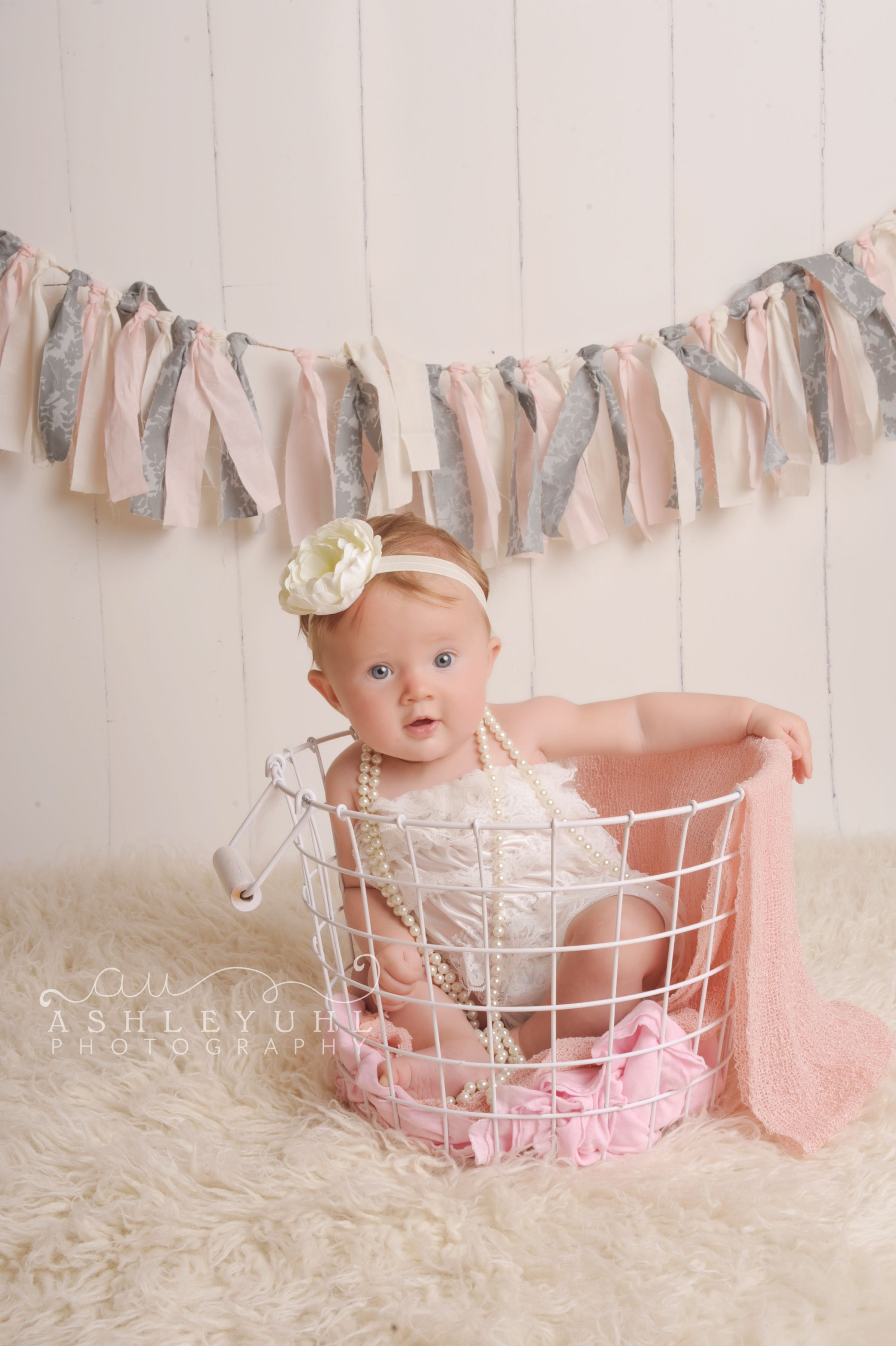 7 Month Baby Photoshoot