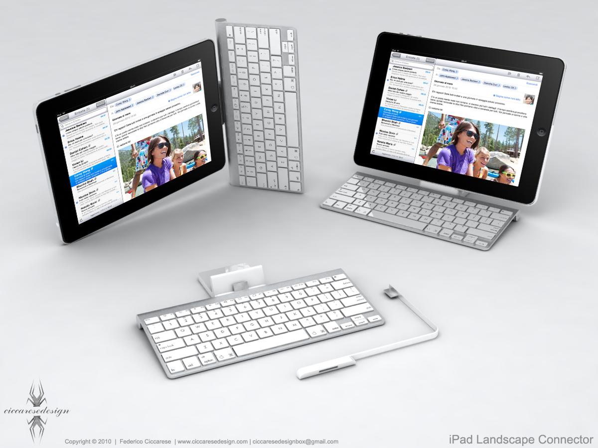 iPad Landscape Connector_01 | Minimalism . Tech | Pinterest | iPad ...