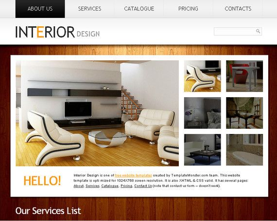 Download 50 Free HTML5 CSS3 Responsive Website Templates on to al - interior design web template