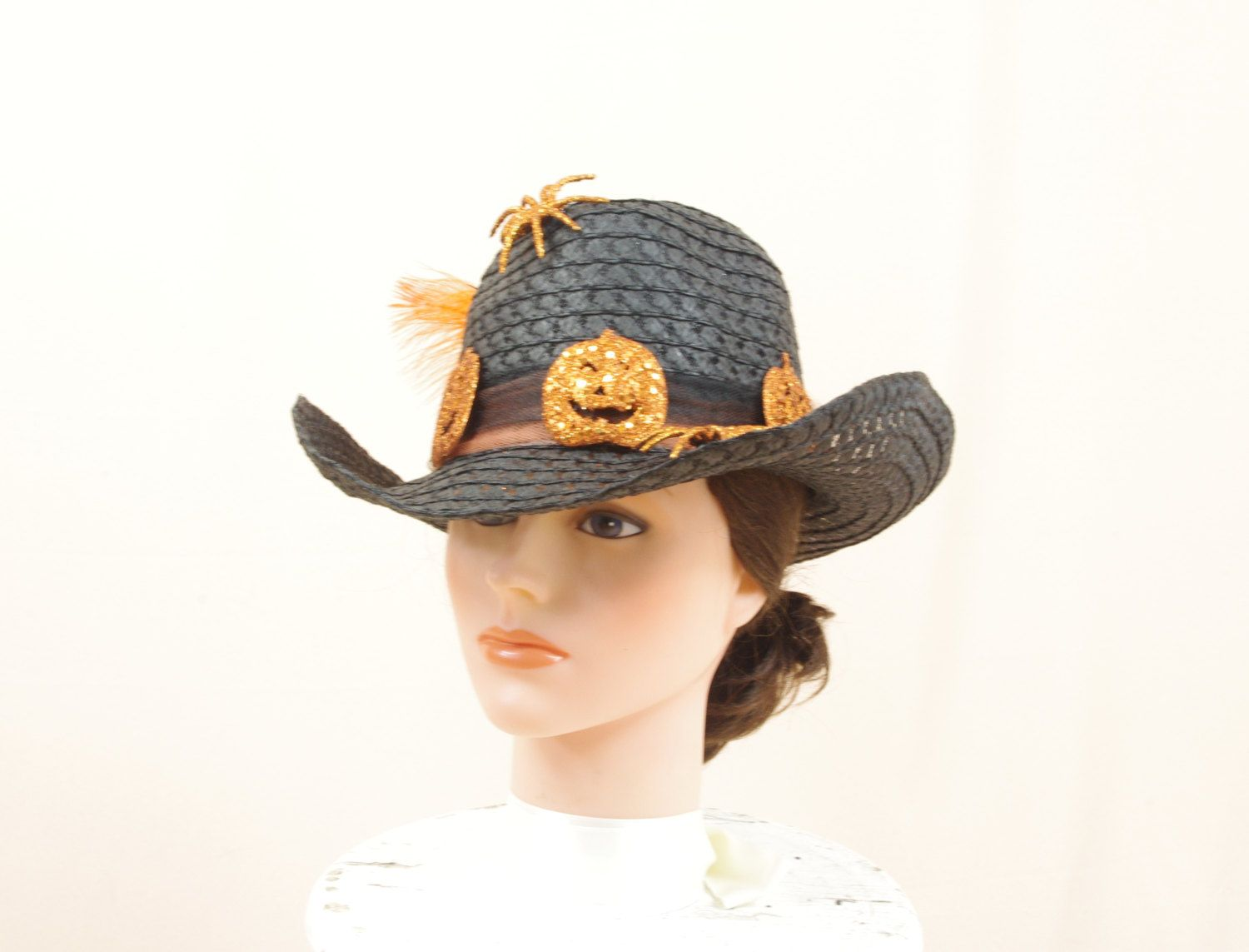Halloween Hat * Country Western Hat * Black Hat * Witch Hat ...