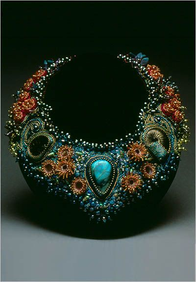 Laura McCabe Beading | Laura McCabe. Ornaments made of beads.