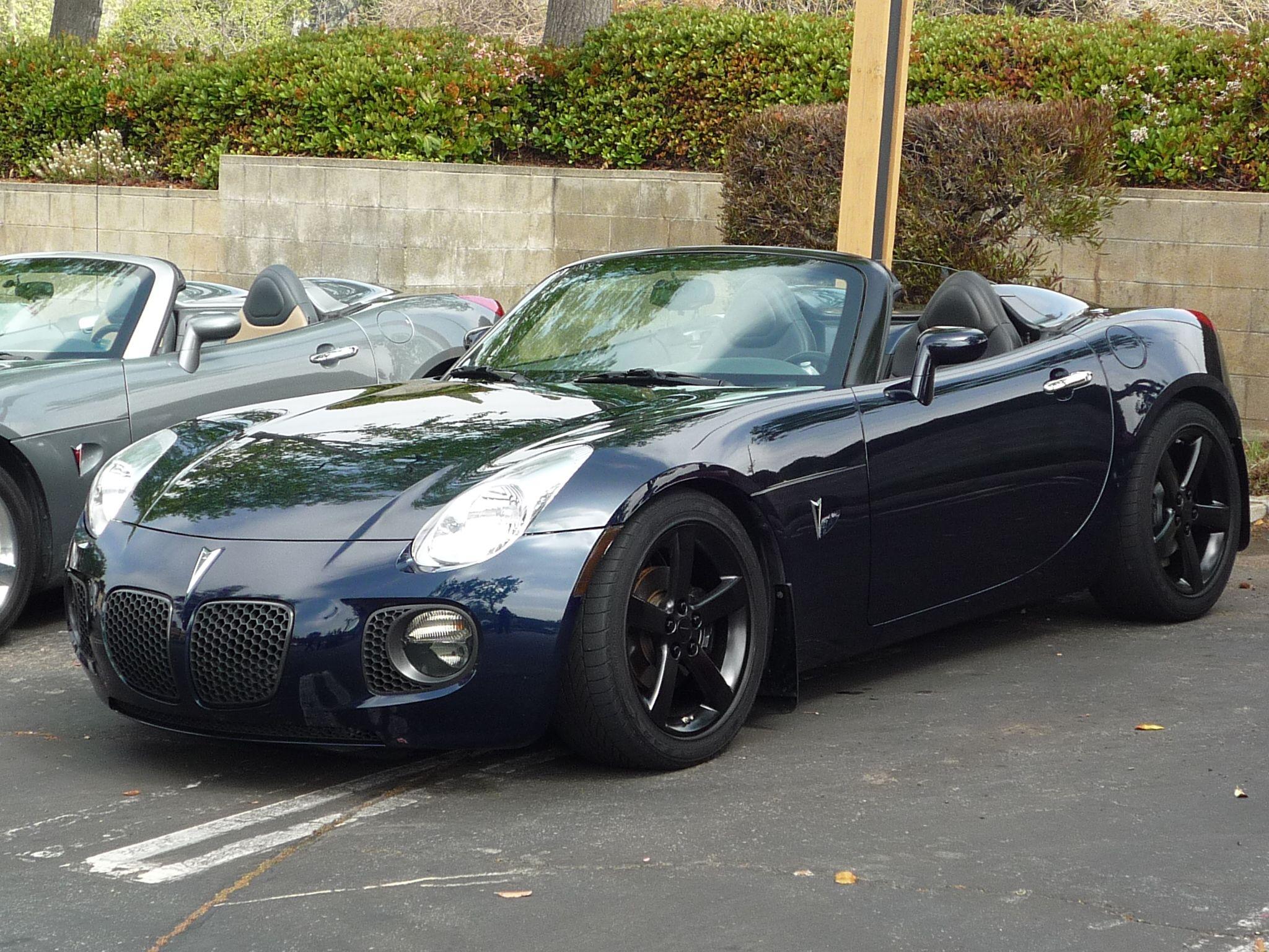 2008 Pontiac Solstice 2 0l Gxp Pictures Mods Upgrades