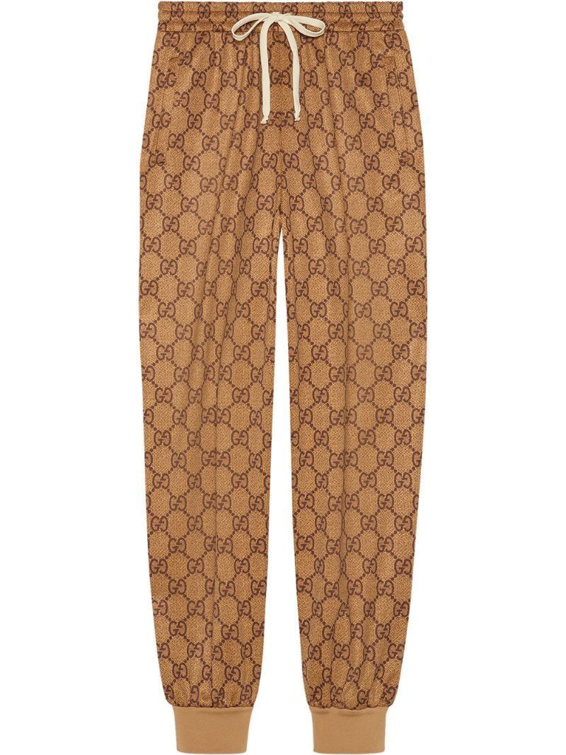 Gucci GG technical jersey track bottoms , NEUTRALS in 2019