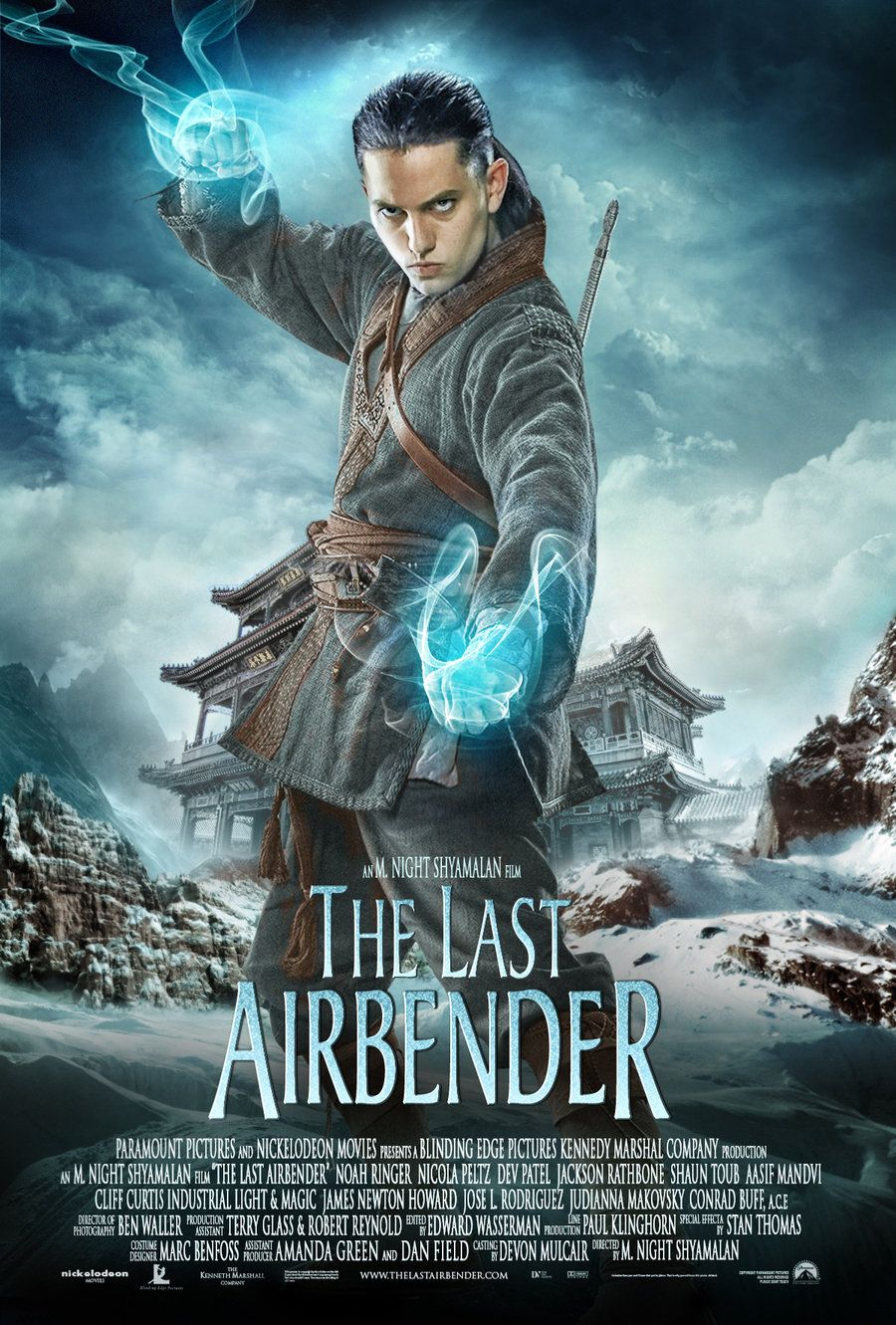 Last Airbender Movie Poster By Imlearning On Deviantart The Last Airbender Movie The Last Airbender Movie Posters