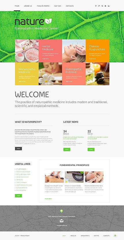 Template 49118 Spa Salon Responsive Website Template Website Template Responsive Website Template Web Development Design