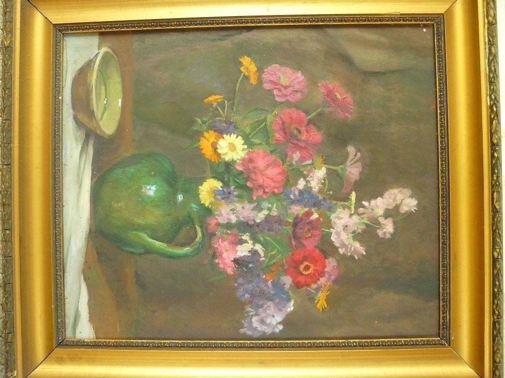 Csendélet virágokkal - Festmény   Galéria Savaria online ...
