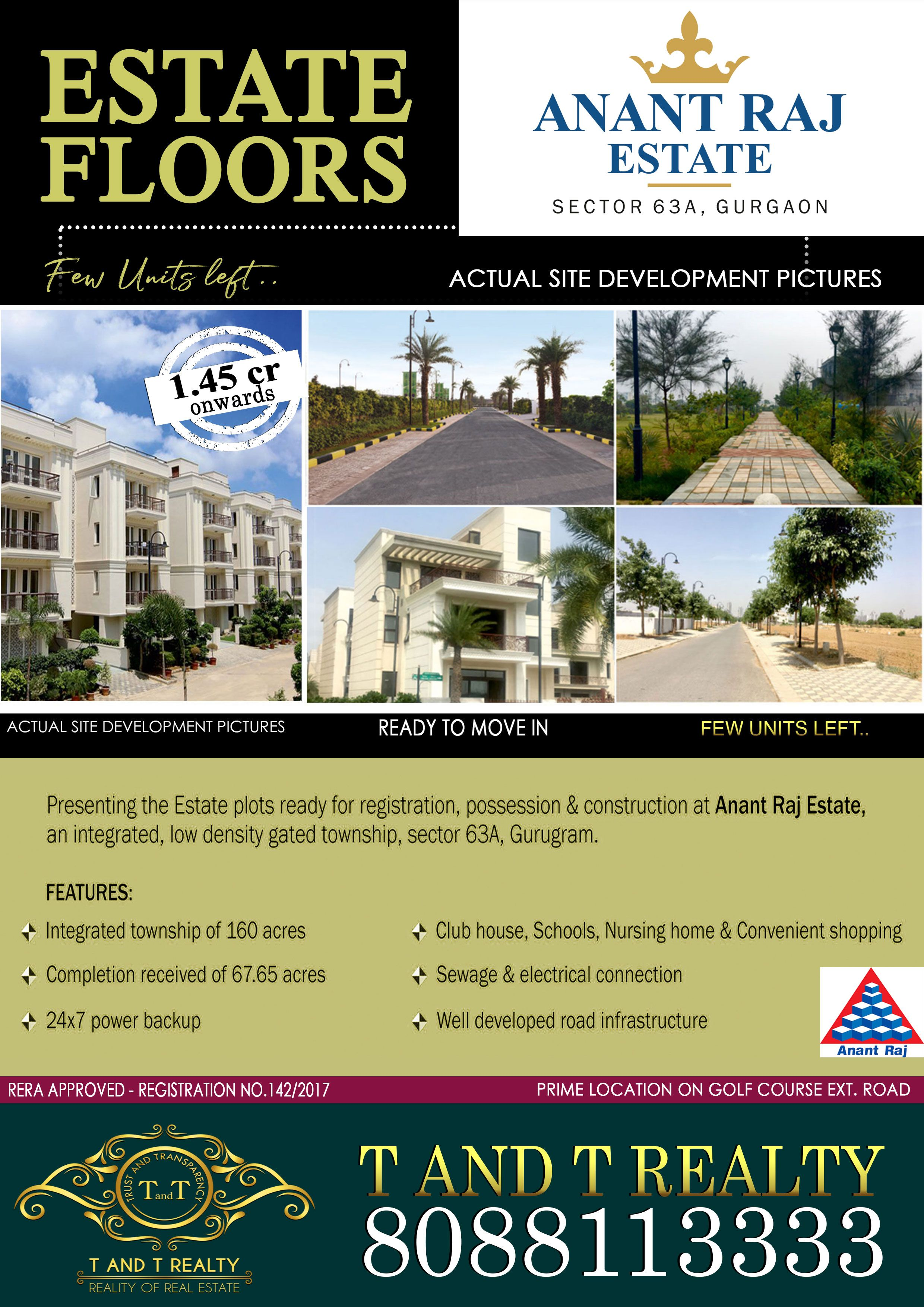 Anant Raj Estate Estates The Unit Mansions