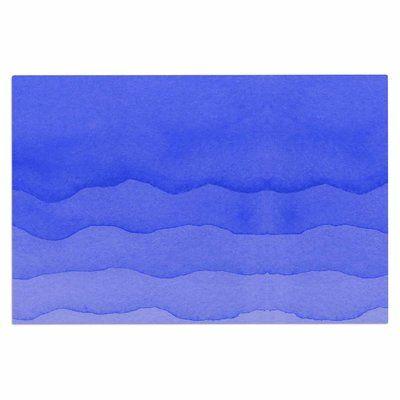 East Urban Home \u0027Ombre\u0027 Doormat Color Berry Blue Doormat and Products - dunkelblaue kche