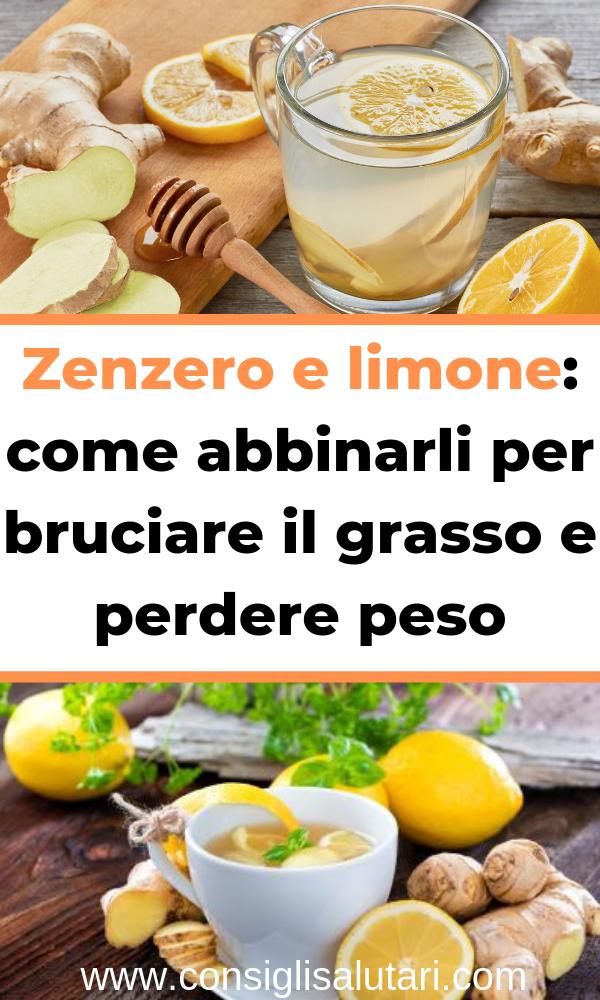 bere limone brucia i grassi