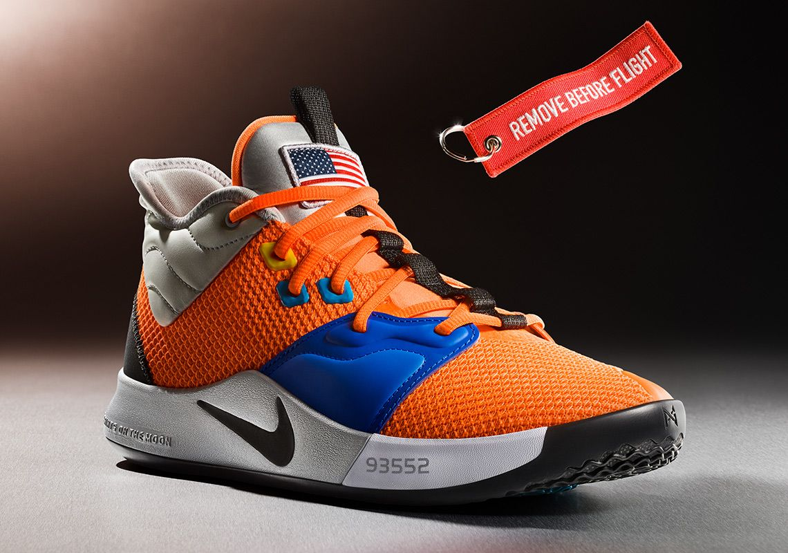 For Paul George And The Nike PG 3 Gravity Is Not An Issue  98c4b593f
