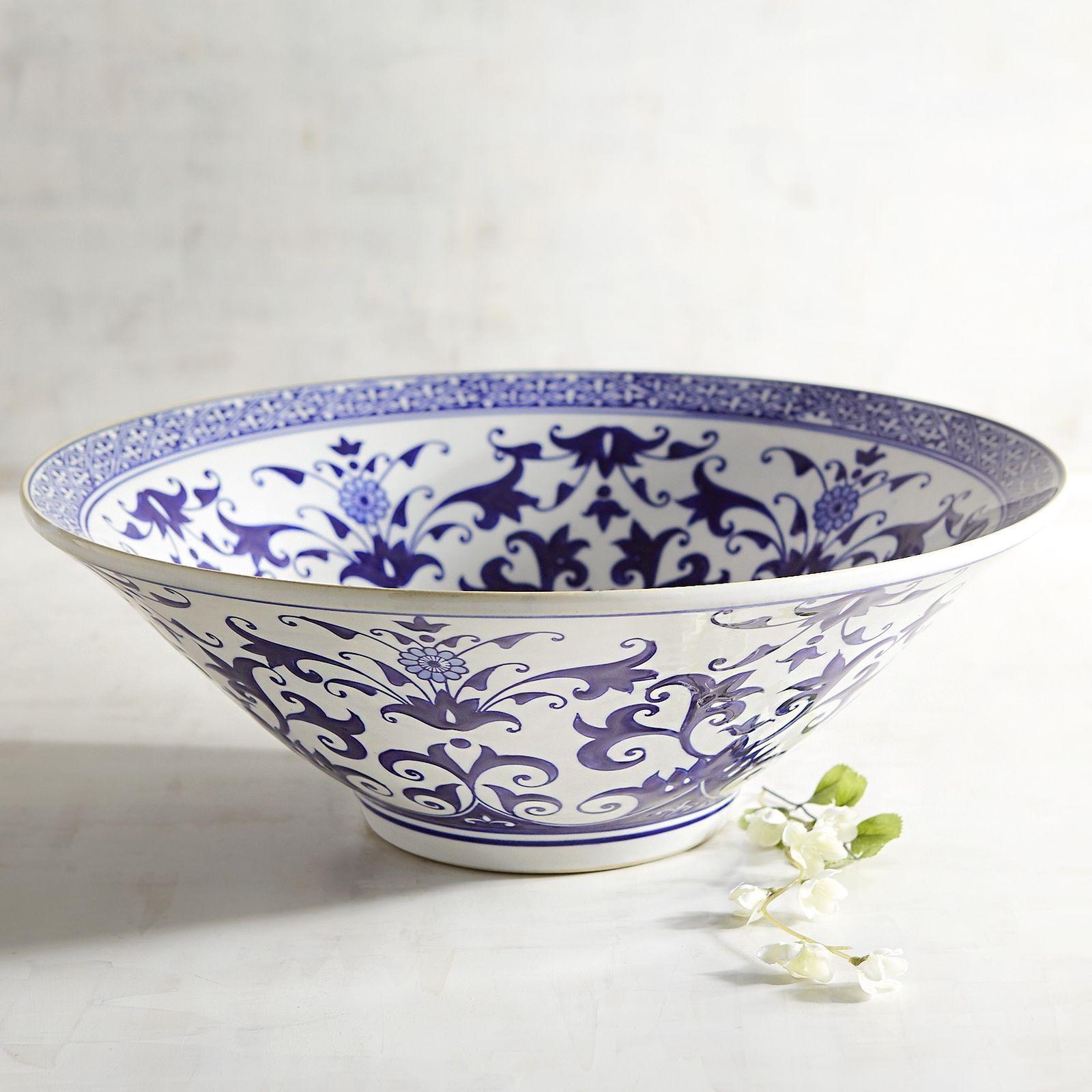 Blue white ceramic decorative bowl decorative vases bowls and blue white ceramic decorative bowl reviewsmspy