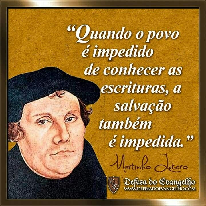 Citaçõesmartinho Lutero Frases Individualidades Jesus Is Lord