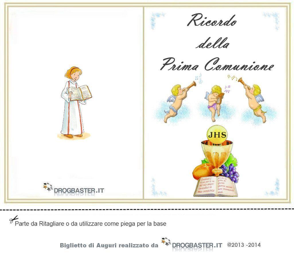 Biglietto Di Auguri Prima Comunione Bambino Biglietti Prima Comunione Inviti Cresima E Biglietti Portafoto Prima Comunione Comunione Biglietto Di Auguri