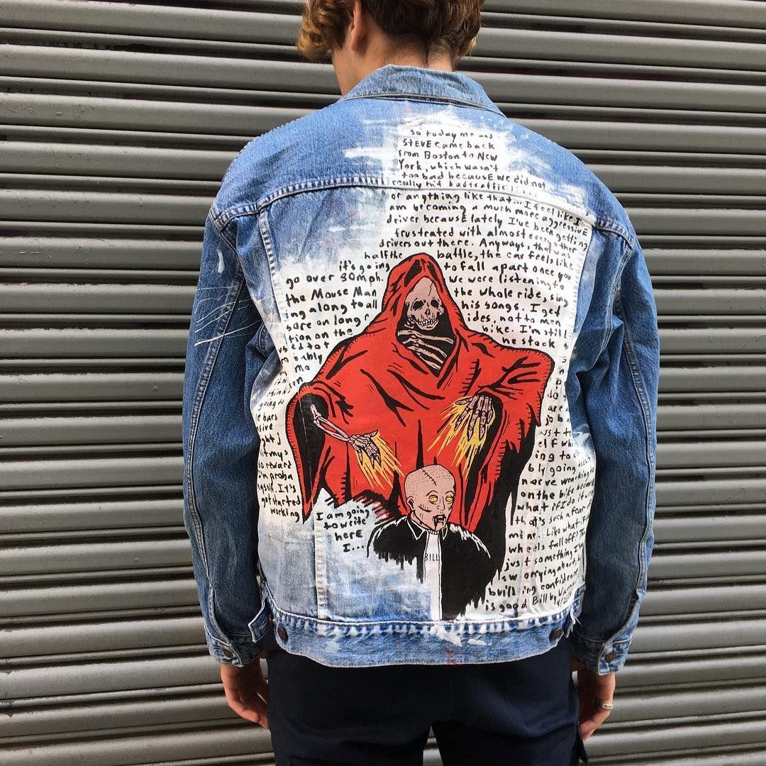 4 650 Me Gusta 206 Comentarios Bill By Warren Lotas Warrenlotas En Instagram This Could Be Yours More In Diy Denim Jacket Custom Denim Jacket Denim Diy [ 1080 x 1080 Pixel ]