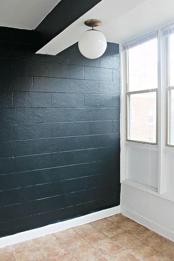 Sunroom Ideas For A Patio Indoors The Home Depot Cinder Block Walls Concrete Block Walls Cinder Block