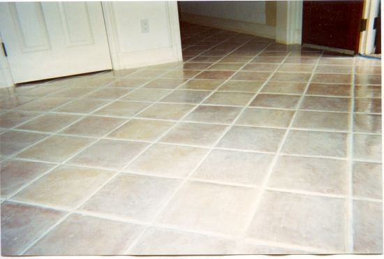 Refinishing Mexican Tile Ace Marble