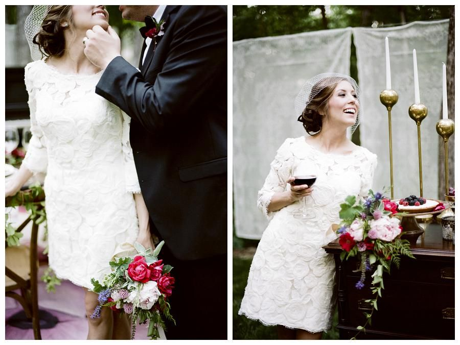 Wedding Inspiration ~ Red Wine and A Beautiful Evening | Weddings Unveiled | Inspiring Style for Southern Weddings