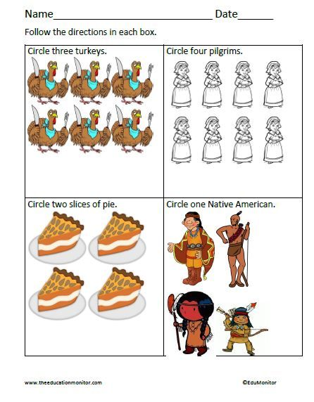 Free Worksheets for Thanksgiving | ***Sweet Math Resources for all ...