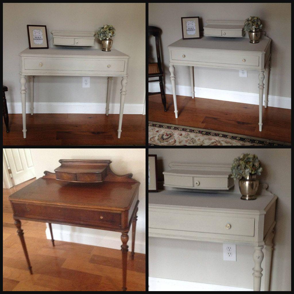 Emma S Treasures Vanity Desk And Mirror By Lea Furniture - Desk Used ...