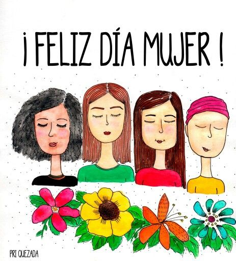 ¡FELIZ DÍA DE LA MUJER! #womensday #felizdiamujer #womens #mujeres #illustration #ilustracion #watercolor #aquarelle #acuarela #paint