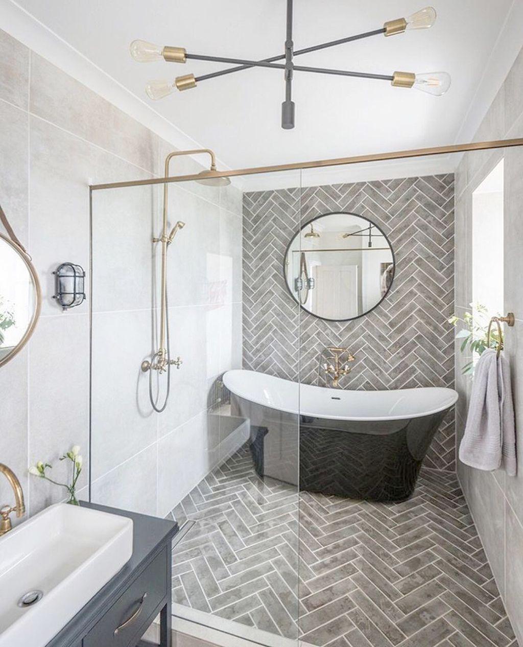 Bathroom Ideas Half Bath Best Bathroom Tile Ideas 2019 Bathroom Ideas Earth To Bat In 2020 Master Bathroom Renovation Master Bathroom Design Bathroom Tile Designs