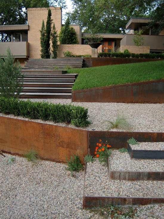 Genial Construire Un Mur De Soutènement   84 Idées Jardin Pratiques | Soutènement,  Construire Et Mur Idees De Conception
