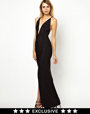 6a0499c41 Solace London Revelation Maxi Dress with Strappy Low Back