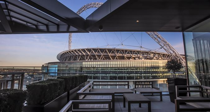 A Landmark Hotel At Wembley Stadium Hilton Is Within Easy Reach Of London S West End